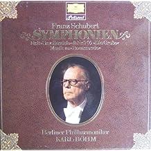 Franz Schuberts Symphonien Nos. 3 & 8 -Unvollendete/Unfinished- [Vinyl LP] [Schallplatte]
