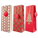 Hallmark Christmas Bottle Bag Traditi...