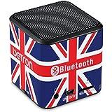 Betron - Mini Haut-Parleur Bluetooth Mc500 - Portable, Rechargeable, De Voyage, Sans Fil - Pour Iphone, Ipad, Ipod, Samsung (Uk Drapeau)