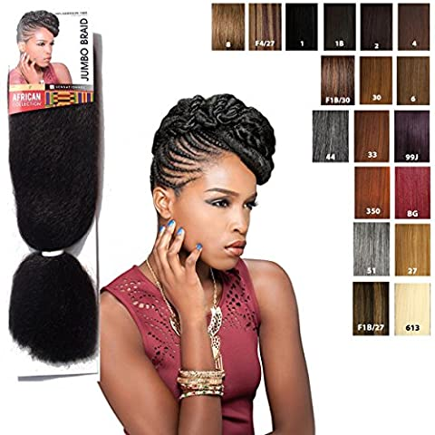 Sensationnel JUMBO BRAID - African Collection - Bulk (4 (brown)) by African Collection