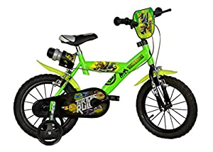 DINO 14-Inch Turtles Bicycle