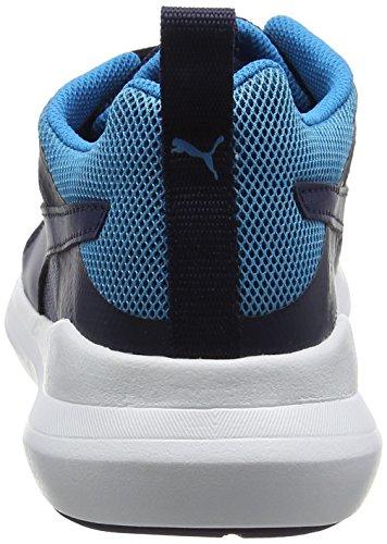 Puma Pacer Evo, Sneakers Basses Mixte Adulte Bleu (Peacoat-peacoat 03)