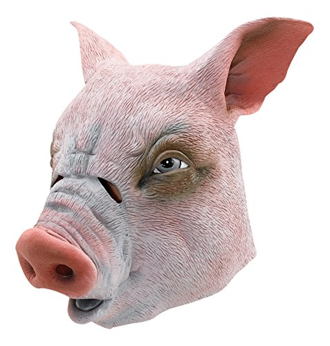Pig Overhead Accessory Fancy (Maske Overhead Tier Latex)