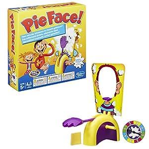 Hasbro Spiele B7063100 – Pie Face, Partyspiel