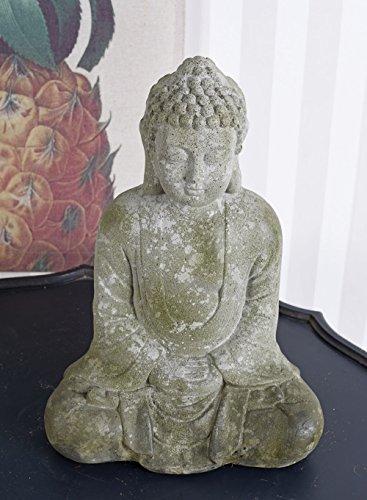 Buddha im Lotussitz Gartenfigur Feng Shui Skulptur Asien Garten Statue Palazzo Exklusiv