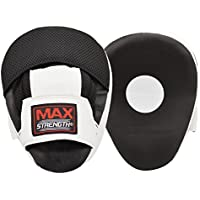 MaxStrength Boxing Focus Punch Mitts MMA Training Punching Hook And Jab Strike Pads Target
