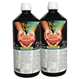 Aloe Vera, Trink-Gel, 99.5% natur pur, 2 Liter Sparpack #30001