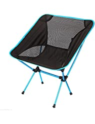 Pio.man Camping Chair Ultra Light Garden Chair Folding Fishing Chair - Heavy Duty 150kg Capacity,Compact,Portable Outdoor Chair with Carry Bag for Outdoor Activities,Camping,BBQ,Beach,Backpacking etc
