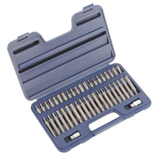 sealey-ak219-trx-star-spline-hex-bit-set-42pc-3-8-1-2sq-drive