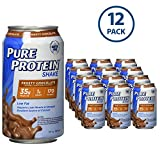 Pure Protein 325 ml Shake - 35 g of Protein - 12 RTD (Frosty Chocolate)