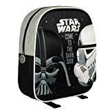 Cerdá Star Wars Mochila Infantil, Color Negro