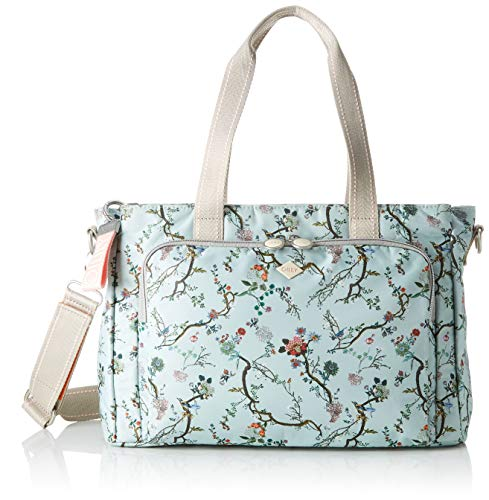 Oilily Damen Groovy Diaperbag Mhz Tote, Türkis (Light Turquoise), 14.5x25.5x38.0 cm
