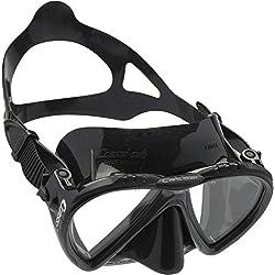 Cressi Lince - Gafas de buceo, color negro