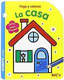 La Casa. Pega Y Colorea