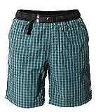 Kurze Hose Herren MOTH SHORTS Rejoice® – Boulderhose für Damen und Herren – Outdoorhose für bewegungsfreies Bouldern, Klettern, Trekking, Wandern - Ocean - L