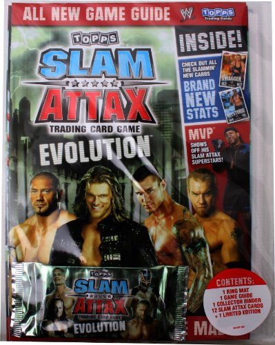 Slam Attax Evolution - Sammelmappe Ultimate Game Guide