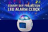 Best Alarm Clocks For Kids - GPCT Starry Sky Projection LED Alarm Clock, Timer Review