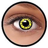 FXEYEZ Farbige Kontaktlinsen gelb