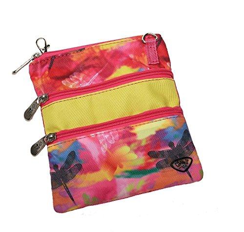 new-ladies-glove-it-dragonfly-golf-3-zip-bag