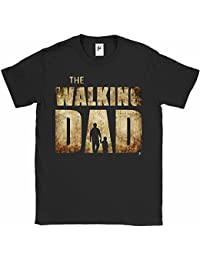Fancy A Snuggle The Walking Dad Parody Father Son Zombies Mens T-Shirt