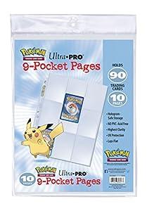Ultra Pro- Pokémon Hojas para Álbum (84847-RD)