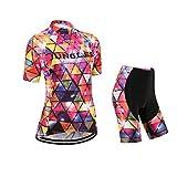 51PYkbZnAeL. SL160  - Ropa ciclista de verano para mujer