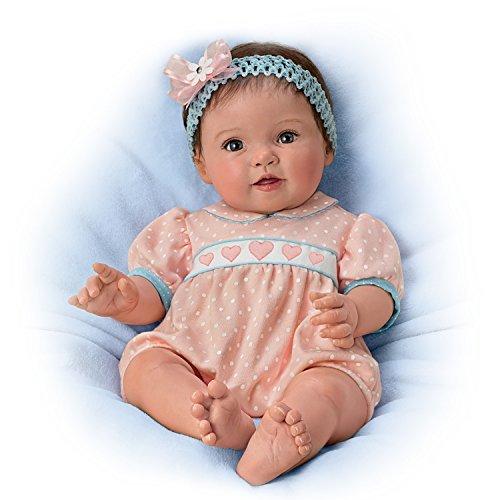 Ashton Drake Lifelike Poseable Baby Doll by Ping Lau: Littlest Sweetheart by The Ashton-Drake Galleries by The Ashton-Drake Galleries