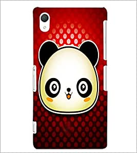 PrintDhaba Panda D-4871 Back Case Cover for SONY XPERIA Z2 (Multi-Coloured)