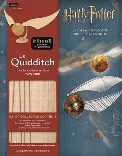 Le Quidditch : Dans les coulisses des films Harry Potter. 1 livre et 1 maquette à construire