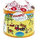 Aladine - 85127 - Loisir Créatif - Stampominos - Chantier