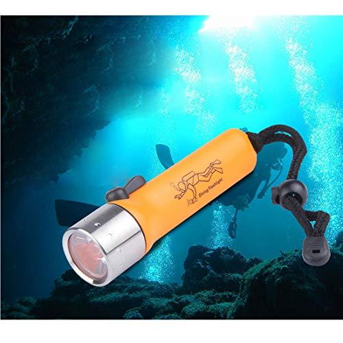 Blendung Tauchen Taschenlampe 200LM Q5 Birne LED Diving Light Long Shot 150M, Batterie Nicht inbegriffen