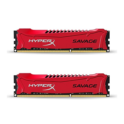 HyperX Savage HX318C9SRK2/16 16GB 1866MHz DDR3 CL9 DIMM (Kit 2x 8GB) XMP Rot -