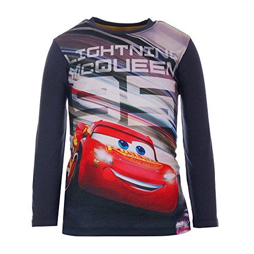 Disney-Cars-74488-T-Shirt-Bambino-Blau-Dunkelblau-797-6-anni