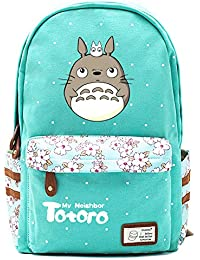62d31bb970 Double Villages Anime My Neighbor Totoro Cosplay Daypack Bookbag College Tasche  Rucksack…