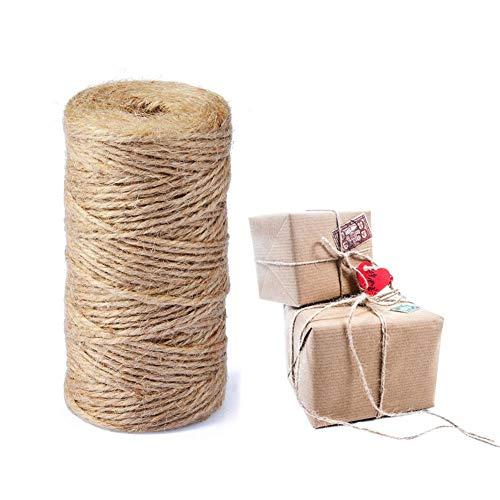 Olyee Cuerda de cáñamo de Yute Fuerte Decorativa