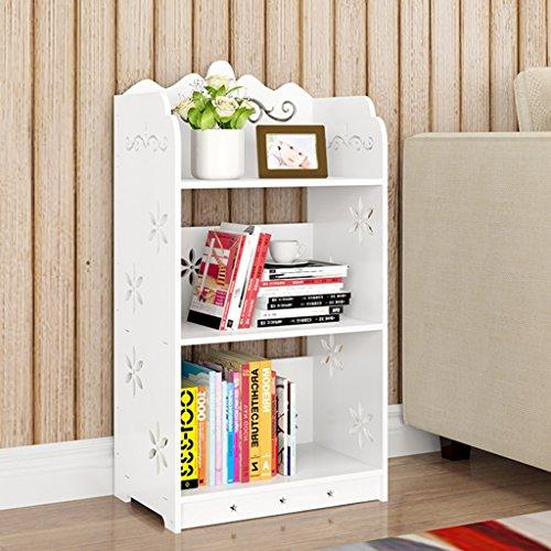 Organisieren Speicherschränke, Kreative Bücherregal-Sammlung Einfache Studenten-Boden-Wirtschafts-Kombination Kinderbücherregal-einfache moderne mehrstöckige Architektur