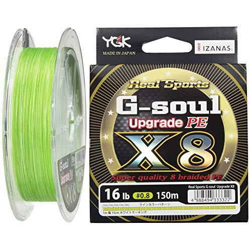 YGK P.E Line G-Soul X8 Upgrade 150m P.E 0.8 , 16lb (3322)