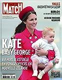 Paris Match n° 3386 du 9 Avril 2014 - Kate et George (couv'), Nicola Sirkis (3p), Herbert Leonard (1p), la mort de Paul Walker (6p), Karine Ferri (4p)
