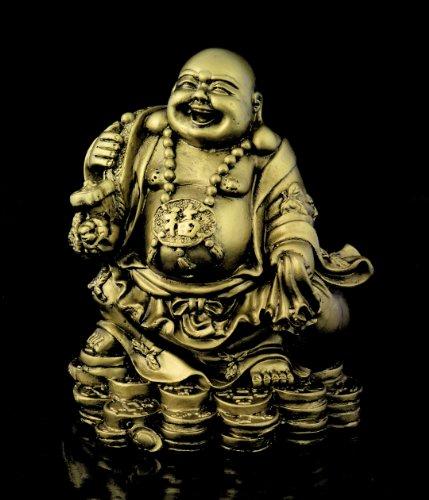 Figura de buda monje budista de acabado de lat n decoraci n estatua accesorio decorativo - Figuras buda decoracion ...