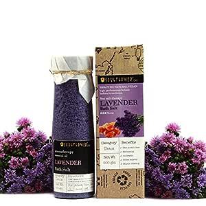 Soulflower Lavender Bath Salt, 500g
