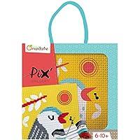 Avenue Mandarine - KC027O - Loisir créatif - Boîte Pix Gallery Comprenant 1 Tableau Point de Croix