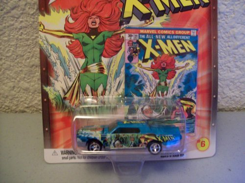 Johnny Lightning X-men #6 Die Cast Car by PLAYING MANTIS (Lightning Cars Diecast Johnny)