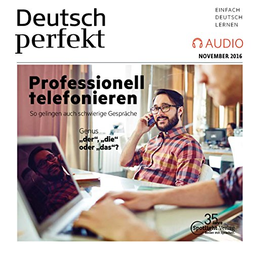 Deutsch perfekt Audio. 11/2016