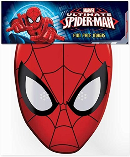 mate Spider-Man Card Face Mask (Amazing Spider Man Mask)