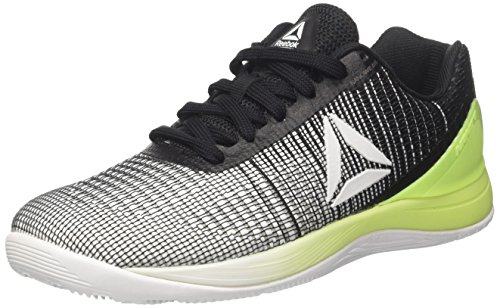 Reebok Damen Crossfit Nano 7 Hallenschuhe, Grau (Grey/White/Electric Flash/Black), 37 EU
