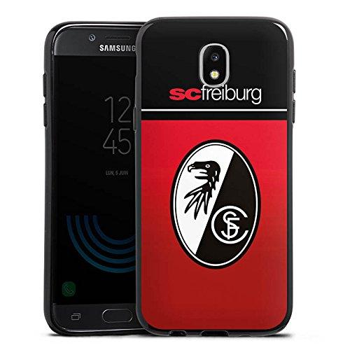 Samsung Galaxy J5 2017 Silikon Hülle Case Schutzhülle SC Freiburg Fanartikel Scf Fussball
