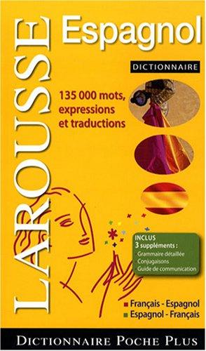 Dictionnaire Poche plus français/espagnol, espagnol/français par LAROUSSE