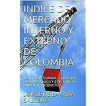 INDICE DE MERCADO INTERNO Y EXTERNO DE COLOMBIA: ¿Compite COLOMBIA , CON PAÍSES DESARROLLADOS Y ES EL CAFÉ SU PRINCIPAL PRODUCTO?