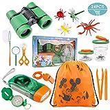 Tintec Set de Juguetes para niños al Aire Libre Explorer 24 Piezas,...