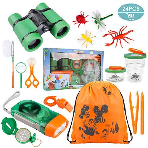 Tintec Set de Juguetes para niños al Aire Libre Explorer 24...